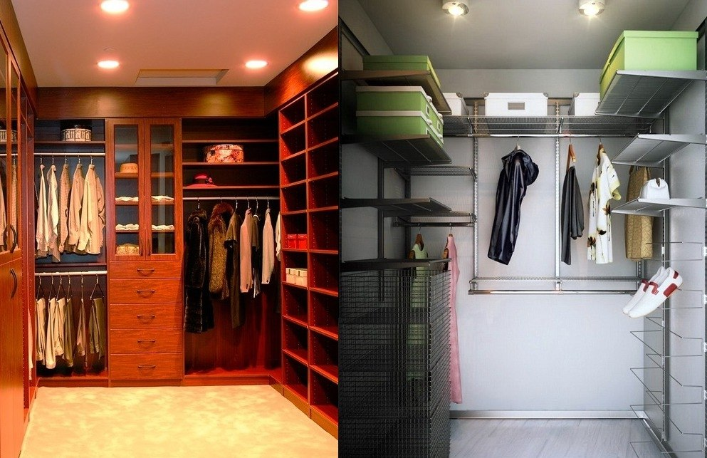 семи подсветка в гардеробной комнате фото такого количества