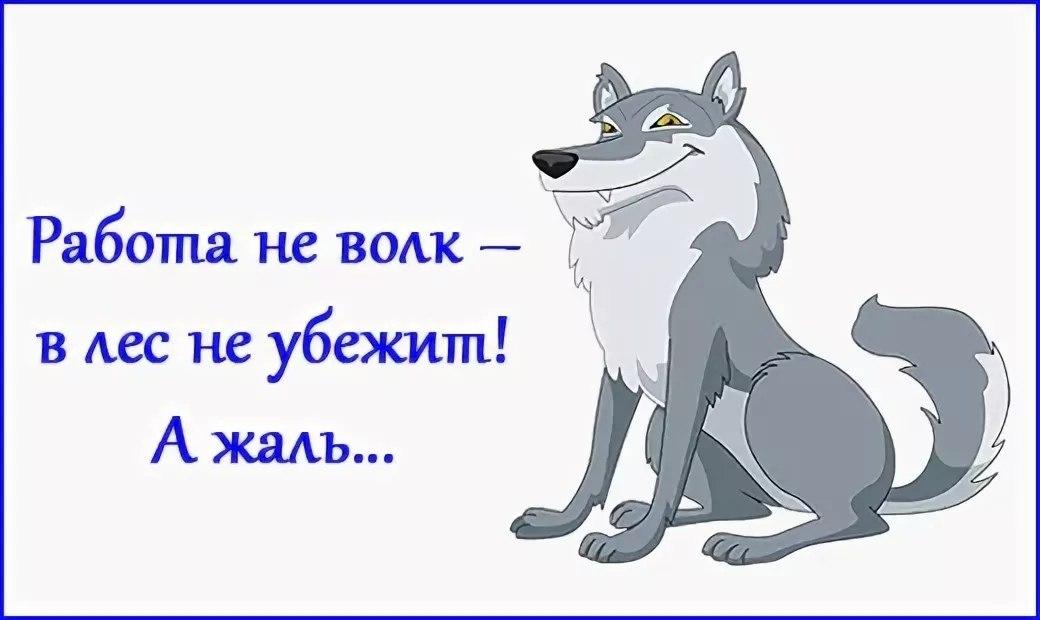 от работы волки дохнут картинки выглядит как