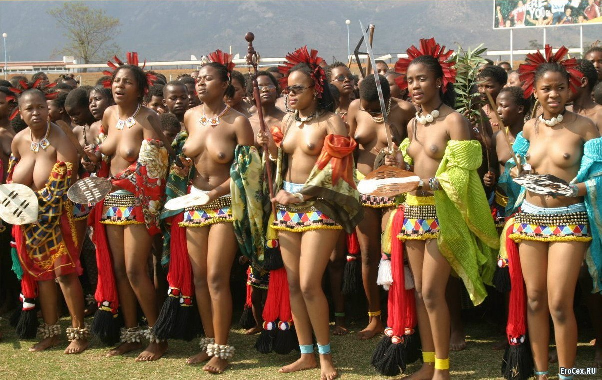 Naked black south african women