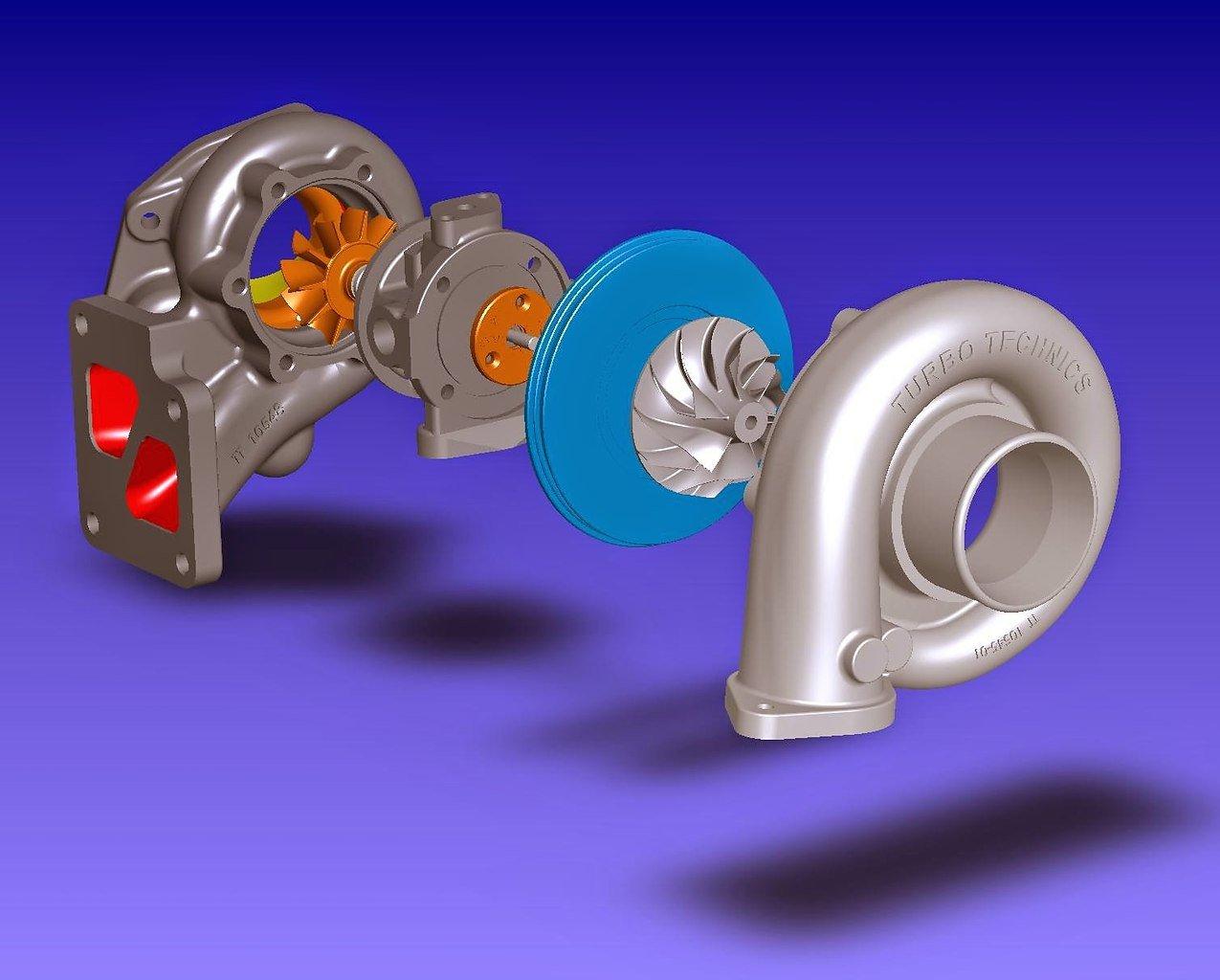 поделитесь фото турбины низкого давления на ременном приводе результате