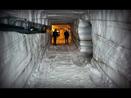 Заброшенный ядерный город в ледниках