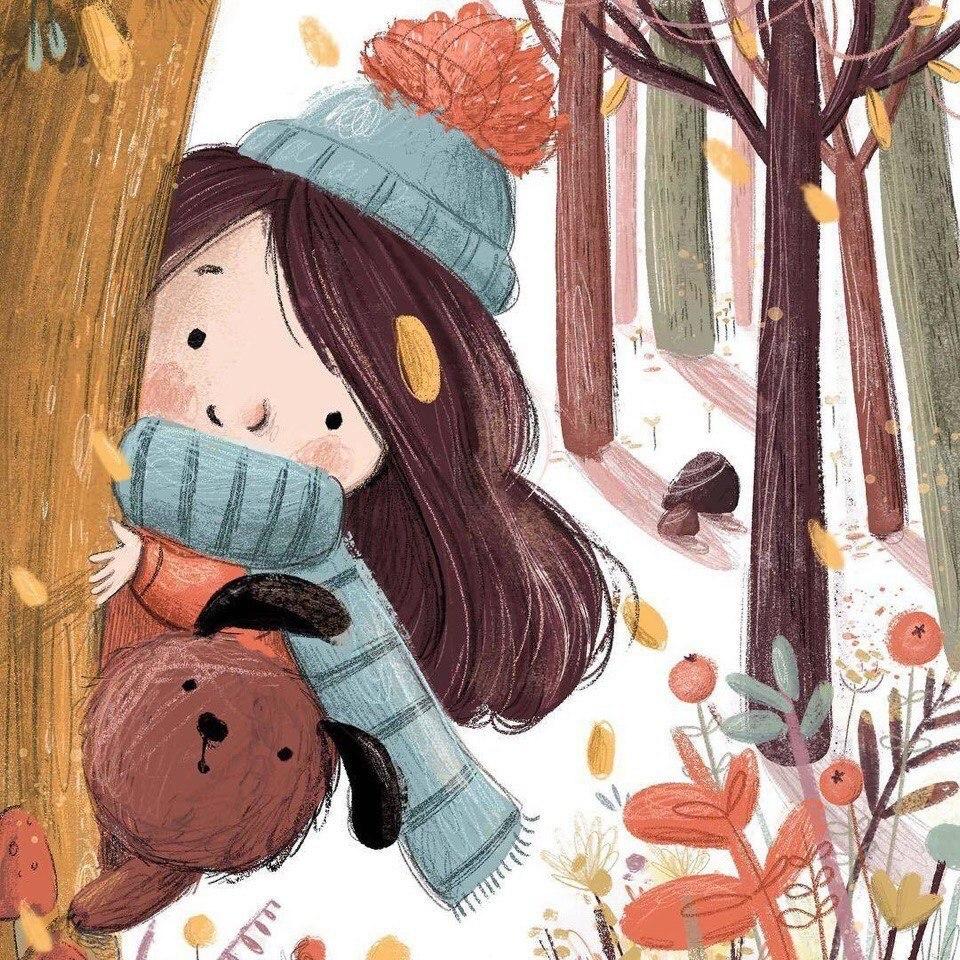 Милые иллюстрации Lucy Fleming - 3