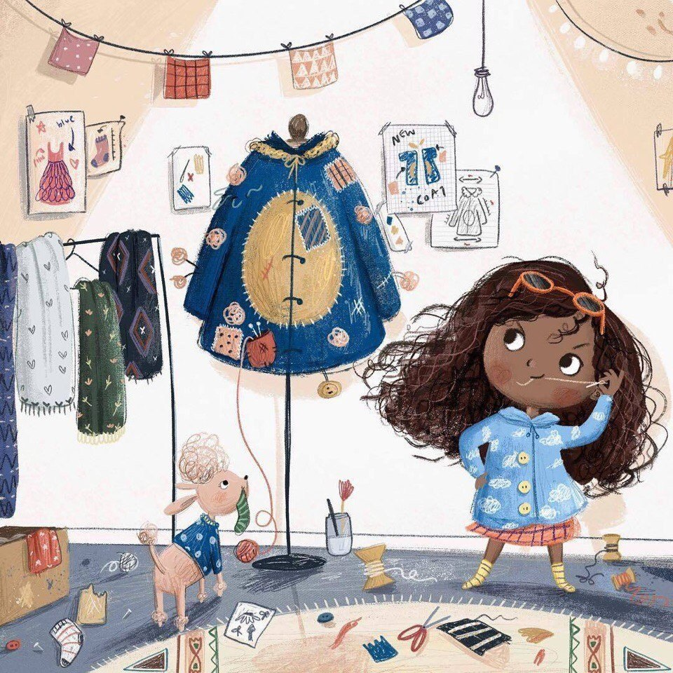 Милые иллюстрации Lucy Fleming - 4