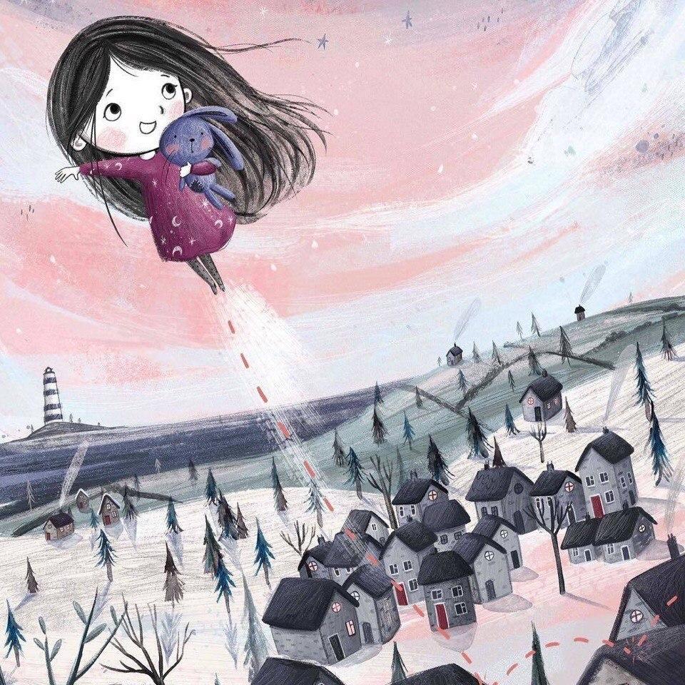 Милые иллюстрации Lucy Fleming - 5
