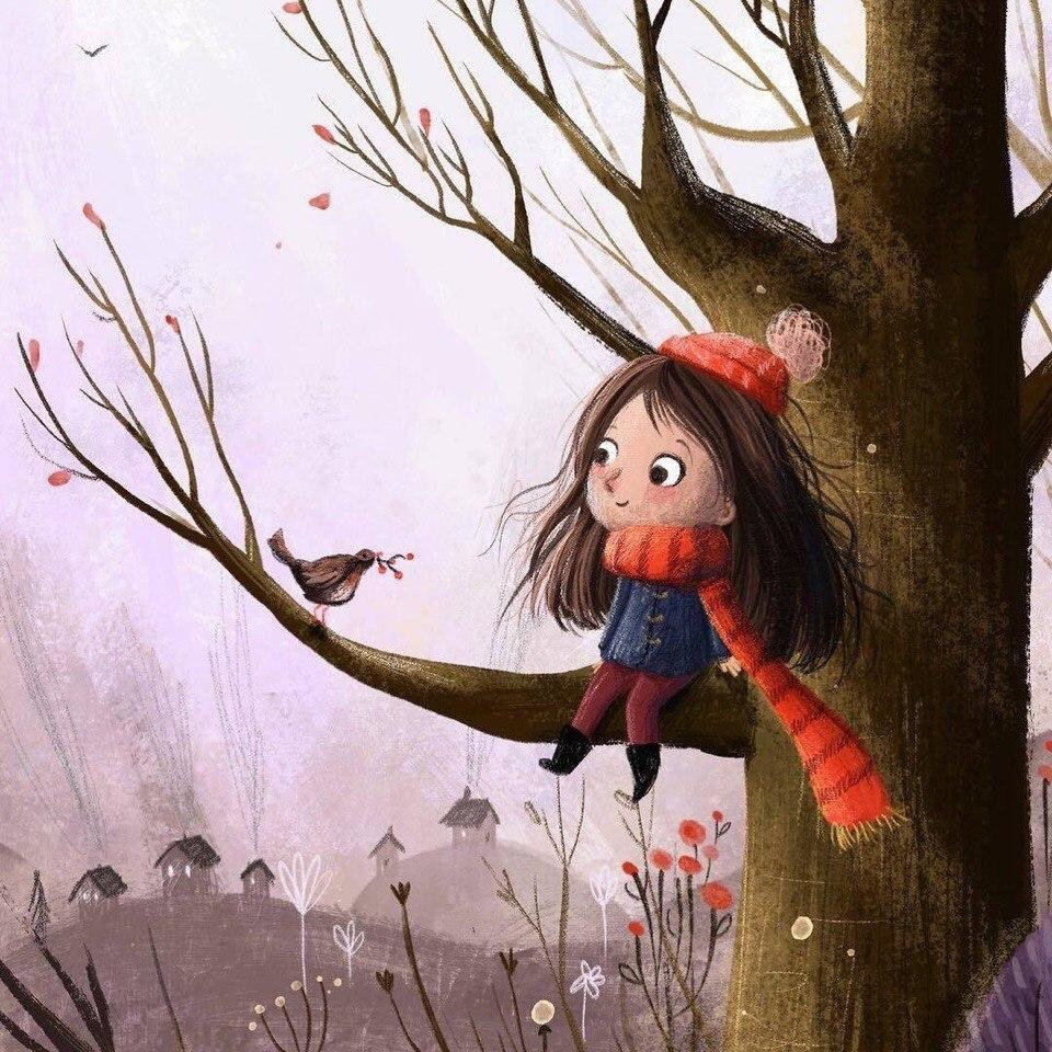 Милые иллюстрации Lucy Fleming - 7