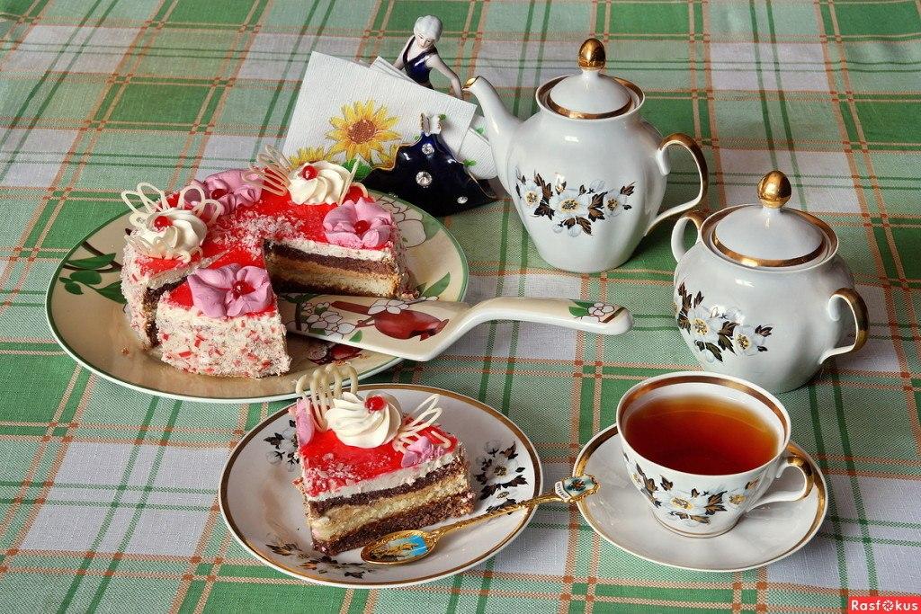 машину открытки с чаем и кофе был