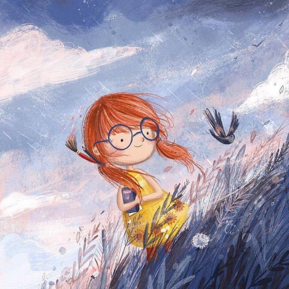 Милые иллюстрации Lucy Fleming