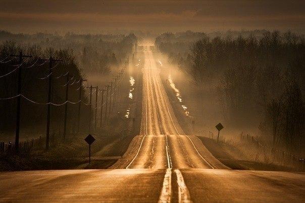 Самая лучшая дорога та, которая ведет домой.