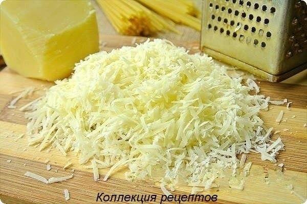 #ужин.спагетти (или другие макароны) из твердых сортов пшеницы – 250 гр.;бекон (грудинка или ... - 6