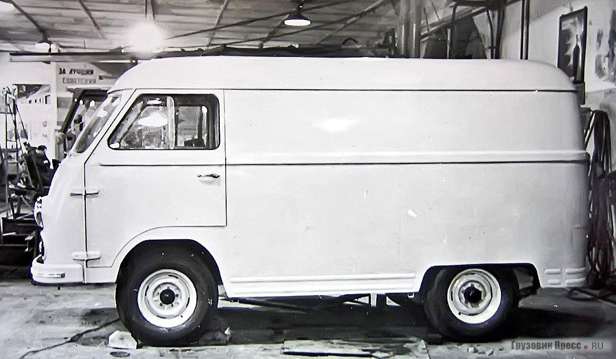ЕрАЗ-763 / НАМИ-0112. Серийно не выпускался. - 2