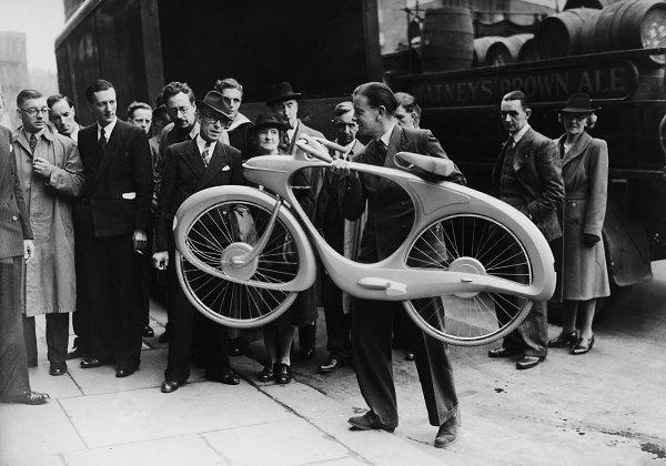 Spacelander: «велосипед будущего», построенный в 1946-м