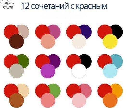 Учимся удачно сочетать цвета