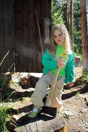 Умею ли я рубить дрова