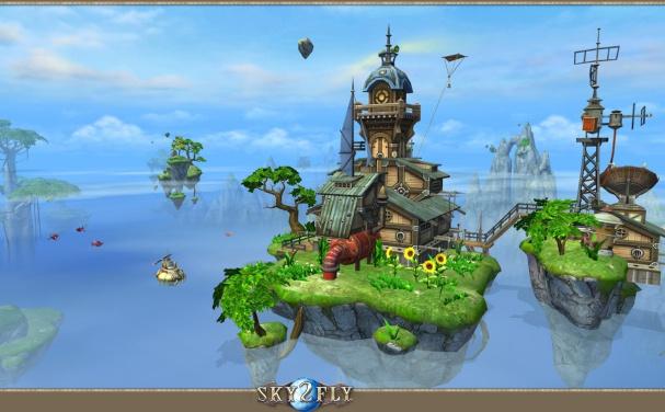 Игра Sky2Fly — игра про Небо