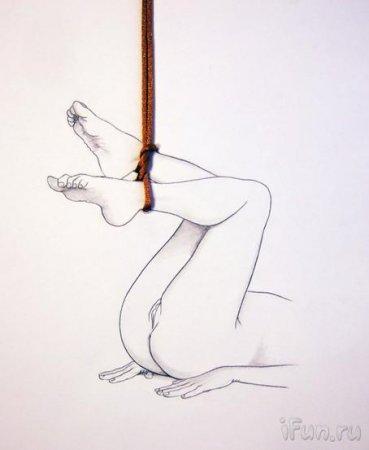 рисунки бдсм карандашом