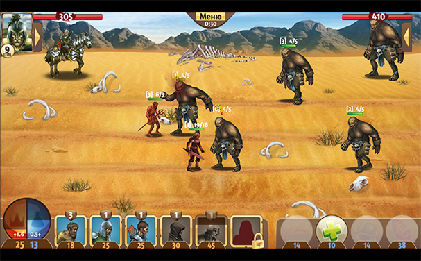 Top of War скриншоты