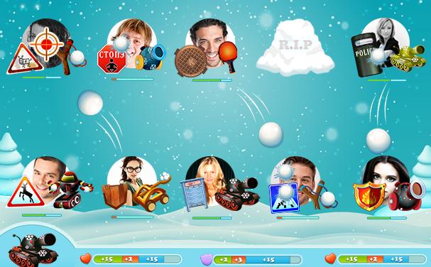 Игра Снежные Войны